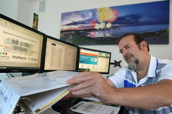 Mark Kilduff recognized in an article by Boston Globe for being Paperless - Green