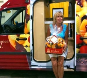 Lee Rea owner of Edible Arrangements of Hanover Ma