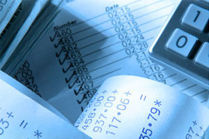 Image of receipts representing cash flow management