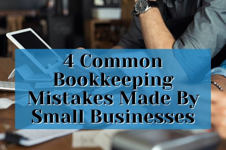 common bookkeeping mistakes